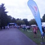 Start der 10km Läufer