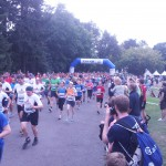 Start der 10km Läufer #2