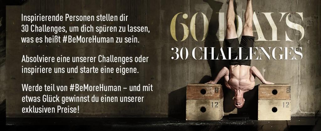 Be More Human Challenge_erst ab 01.09. verwenden!