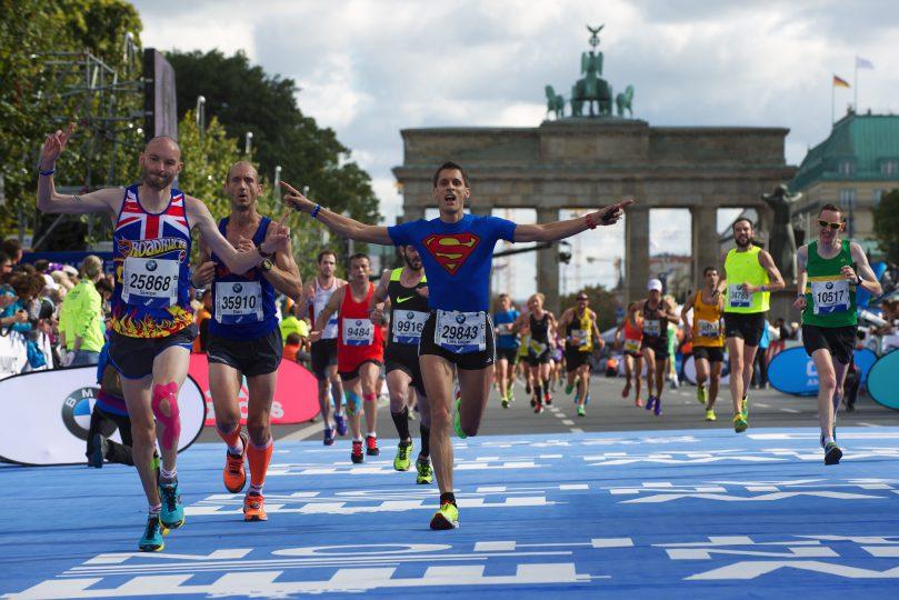 Leichtathletik Berlin 27.09.2015 BMW Berlin Marathon   Foto: Camera 4